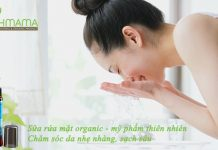 Chăm sóc làn da bị mụn của mẹ mang thai