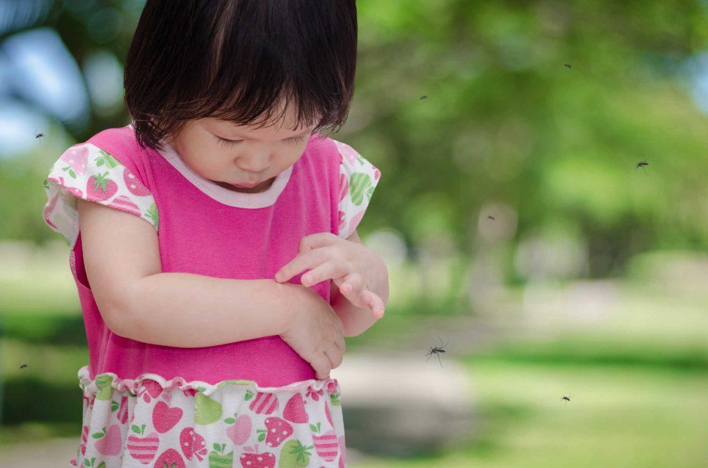 thuốc trị muỗi đốt cho bé
