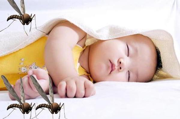thuốc chống muỗi đốt cho bé